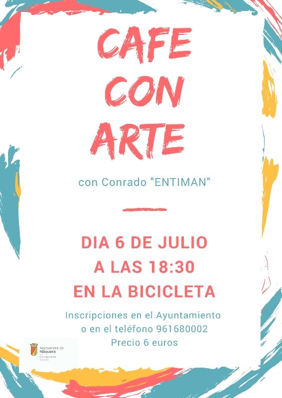 Café amb Art a Nàquera
