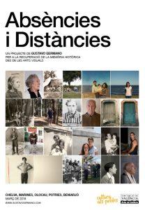 Cartell 'Absències i Distàncies'