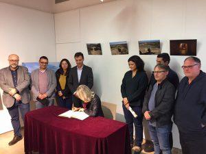 Firma acte de la Associació de La Inmediata