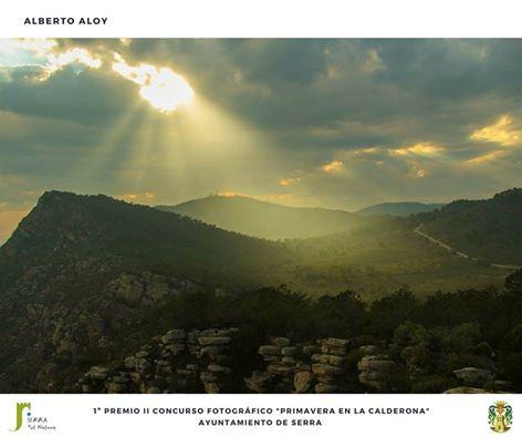 Ganadora seungo concurso Primavera en la Calderona de Serra