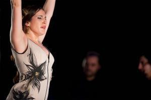 Guadalupe Torres en Pinceladas Flamencas de l'Eliana