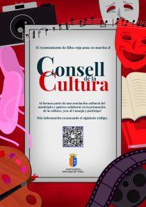 Cartel Consell Cultura
