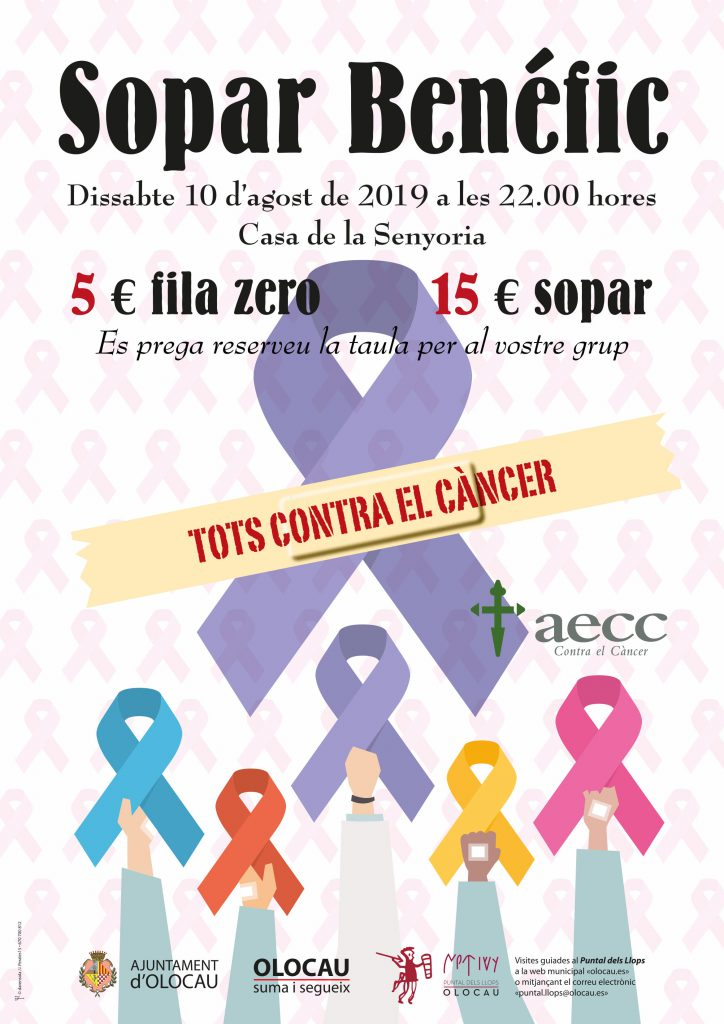 Cartell sopar Cancer 2019-1