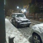 Neu en Gàtova. Imatge: Mª Mercedes