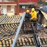 Imatge:Sostre afectat per la pluja a Bétera